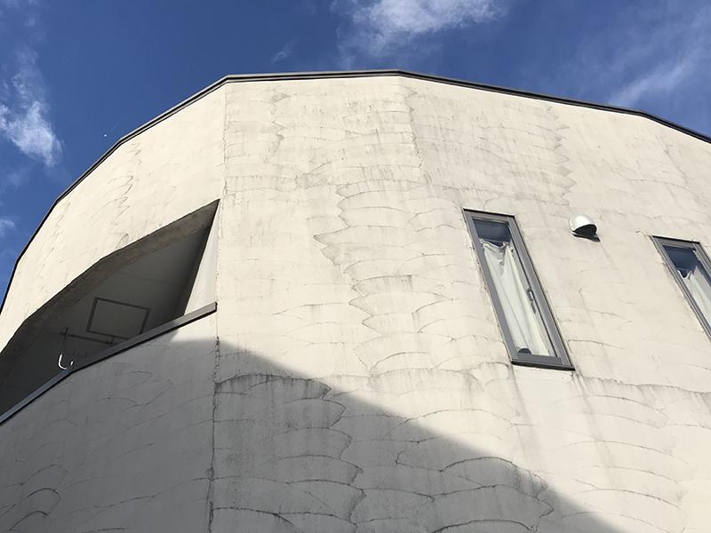 外壁塗装の現場調査